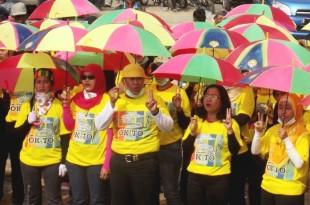 Relawan Pemenangan OK-TO Siap Berjuang Untuk Pilkada Klaten