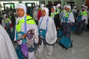 Jamaah haji asal Klaten akan tiba di Pondok Haji Donohudan Boyolali Minggu ini. (NET).