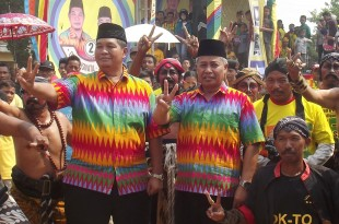 Pasangan Cabup Cawabup One Krisnata - Sunarto Diusung Partai Golkar PAN PKB Partai Demokrat