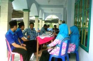 Tim Penilai LPCR Muhammadiyah Klaten mengadakan penilaian di PRM Candirejo sebagai nominasi ranting unggulan