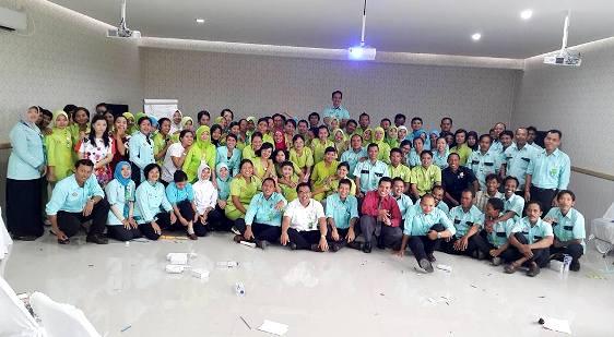 Peserta In House Training RSCH Klaten Foto Bersama Setelah Pelaksanaan Training