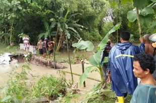 Klaten Waspada Banjir : BPBD Klaten memprediksi curah hujan masih tinggi sepekan ini, warga dihimbau tetap waspada