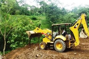 Inilah lokasi baru pembuangan sampah DPU ESDM Klaten di dusun Gemampir Desa Gemampir Karangnongko