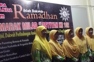 Jajaran Pimpinan Daerah Aisyiyah Klaten saat pembukaan Rihlah Dakwah Ramadhan Milad Aisyiyah ke -102