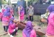 Grup gejlog lesung dari Desa Burikan Cawas turut meramaikan sosialisasi partisipatif Bawaslu Klaten