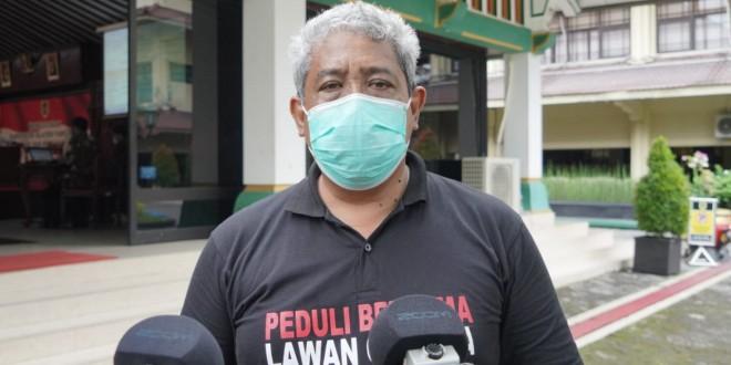 Juru Bicara Satgas Gugus Percepatan Penanganan Pencegahan Covid-19 Kabupaten Klaten, dr. Cahyono.